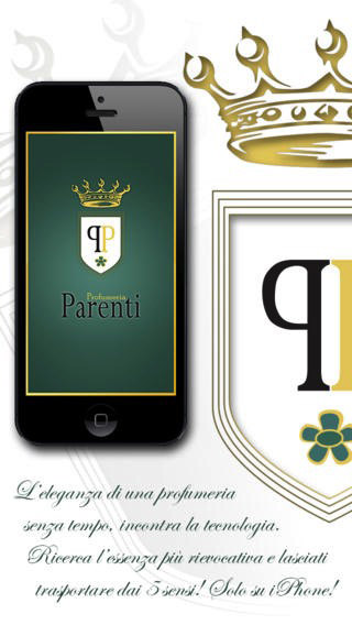 Screenshot 1 App iOS Profumeria Parenti