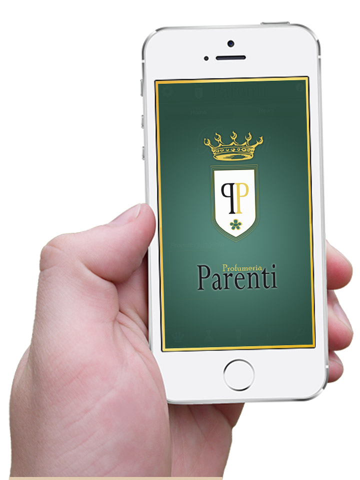 Screen App iOS Profumeria Parenti