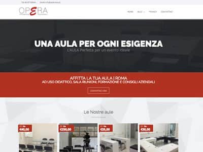 Creazione Sito web roma auleroma.it | Portfolio What a Show S.r.l. | https://www.whatashow.it