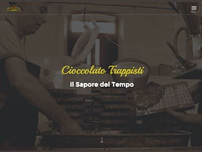 Creazione Sito web professionale cioccolatotrappisti.it | Portfolio What a Show S.r.l. | https://www.whatashow.it