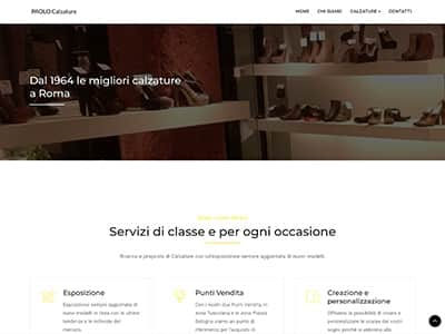 Creazione sito web paolocalzature.it | Portfolio What a Show S.r.l. | https://www.whatashow.it