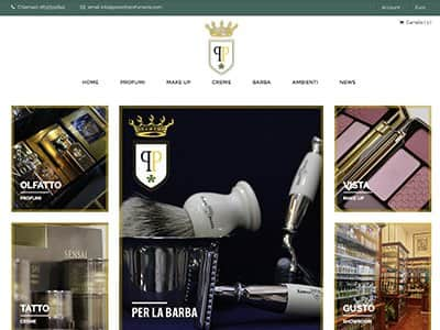 Creazione eCommerce Parenti Profumeria S.r.l. | Portfolio What a Show S.r.l. | https://www.whatashow.it