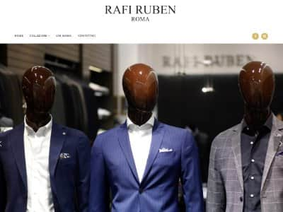Creazione Sito web rafiruben.it | Portfolio Web Agency | What a Show S.r.l. | https://www.whatashow.it