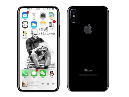 iPhone 8 Fronte e Retro secondo KK Sneak Leaks